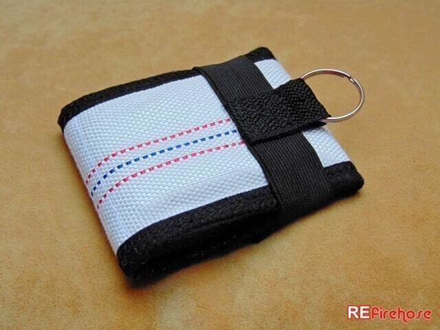 Secure wallet is connectable with key ring carabiner to link to bag or belt